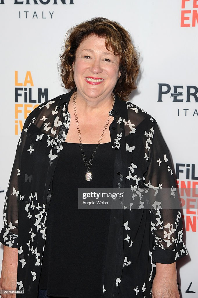 Actress <a gi-track='captionPersonalityLinkClicked' href=/galleries/search?phrase=Margo+Martindale&family=editorial&specificpeople=2649306 ng-click='$event.stopPropagation()'>Margo Martindale</a> attends the premiere of 'The Hollars' during the 2016 Los Angeles Film Festival at Arclight Cinemas Culver City on June 3, 2016 in Culver City, California.
