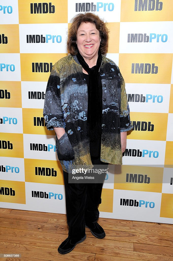 Actress <a gi-track='captionPersonalityLinkClicked' href=/galleries/search?phrase=Margo+Martindale&family=editorial&specificpeople=2649306 ng-click='$event.stopPropagation()'>Margo Martindale</a> in The IMDb Studio In Park City, Utah: Day Three - on January 24, 2016 in Park City, Utah.
