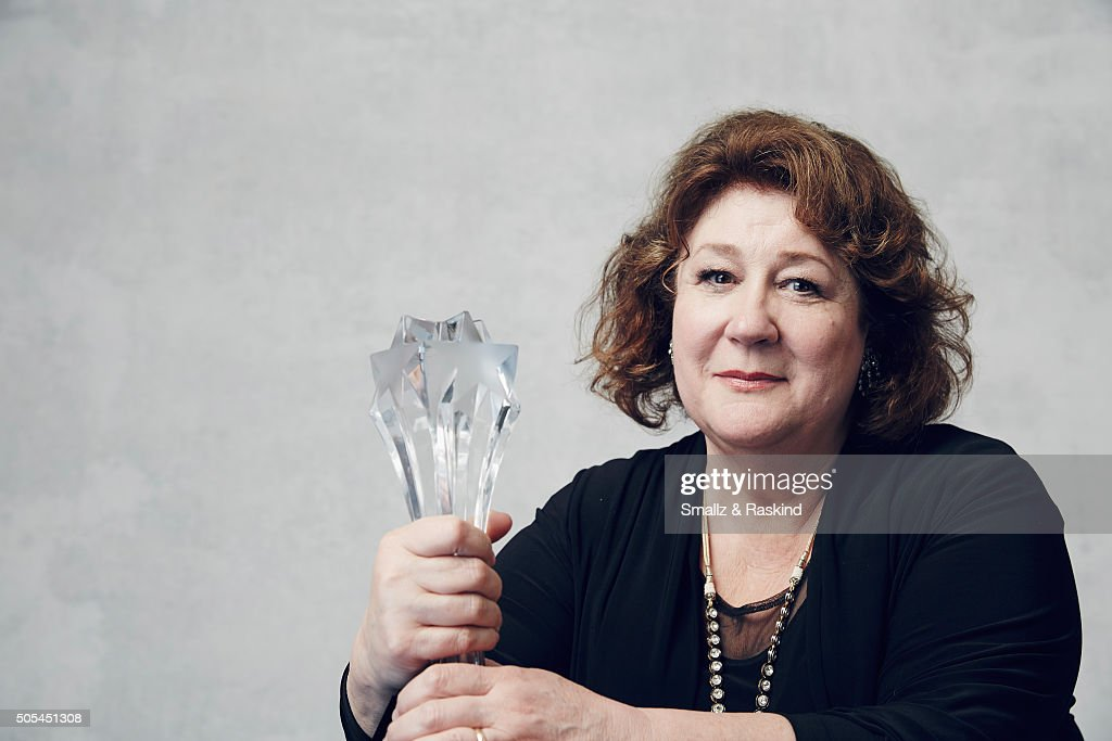 Actress <a gi-track='captionPersonalityLinkClicked' href=/galleries/search?phrase=Margo+Martindale&family=editorial&specificpeople=2649306 ng-click='$event.stopPropagation()'>Margo Martindale</a> poses for a portrait during the 21st Annual Critics' Choice Awards at Barker Hangar on January 17, 2016 in Santa Monica, California.