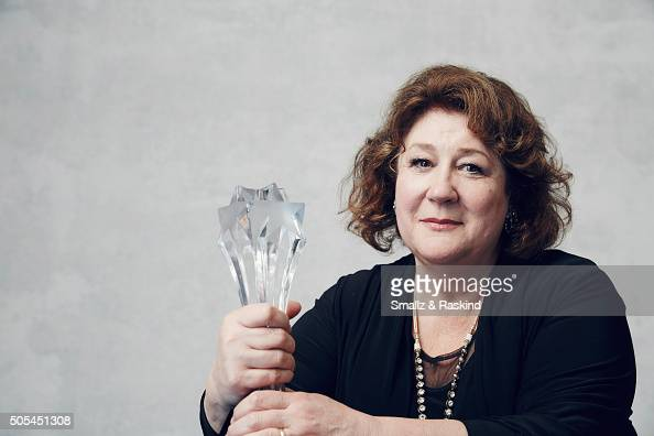 Actress Margo Martindale poses for a portrait during the 21st Annual Critics' Choice Awards at Barker Hangar on January 17 2016 in Santa Monica...