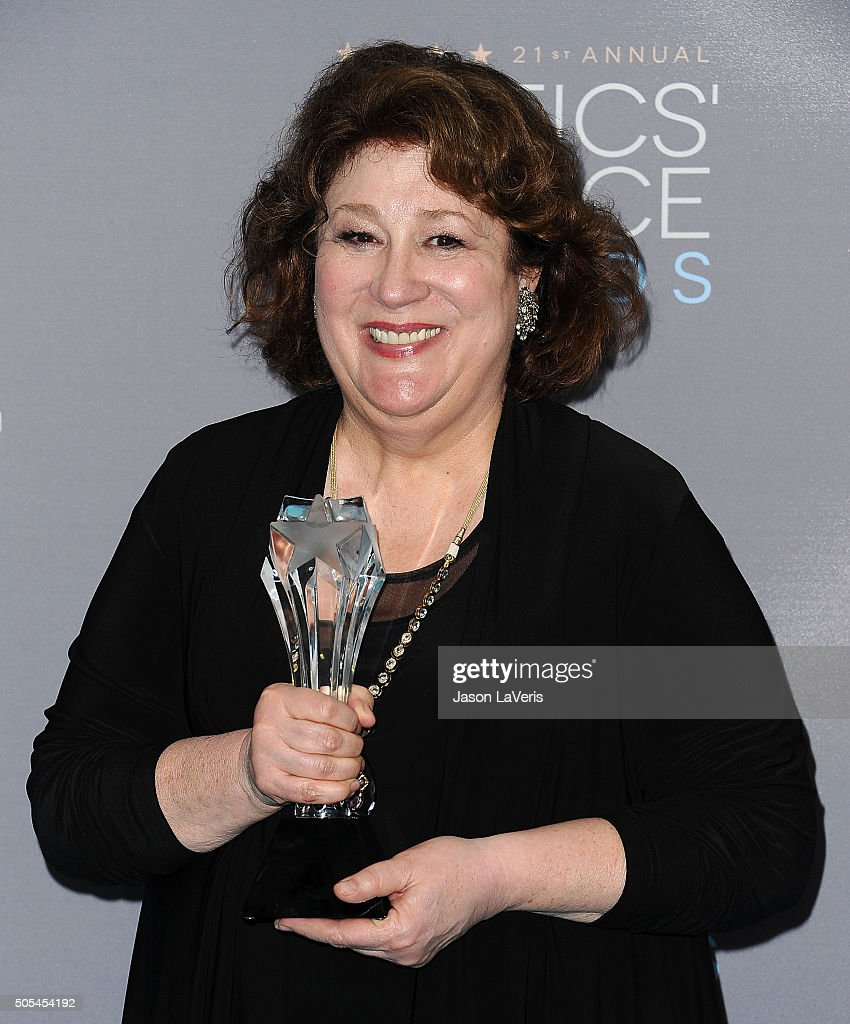 Actress <a gi-track='captionPersonalityLinkClicked' href=/galleries/search?phrase=Margo+Martindale&family=editorial&specificpeople=2649306 ng-click='$event.stopPropagation()'>Margo Martindale</a> poses in the press room at the 21st annual Critics' Choice Awards at Barker Hangar on January 17, 2016 in Santa Monica, California.