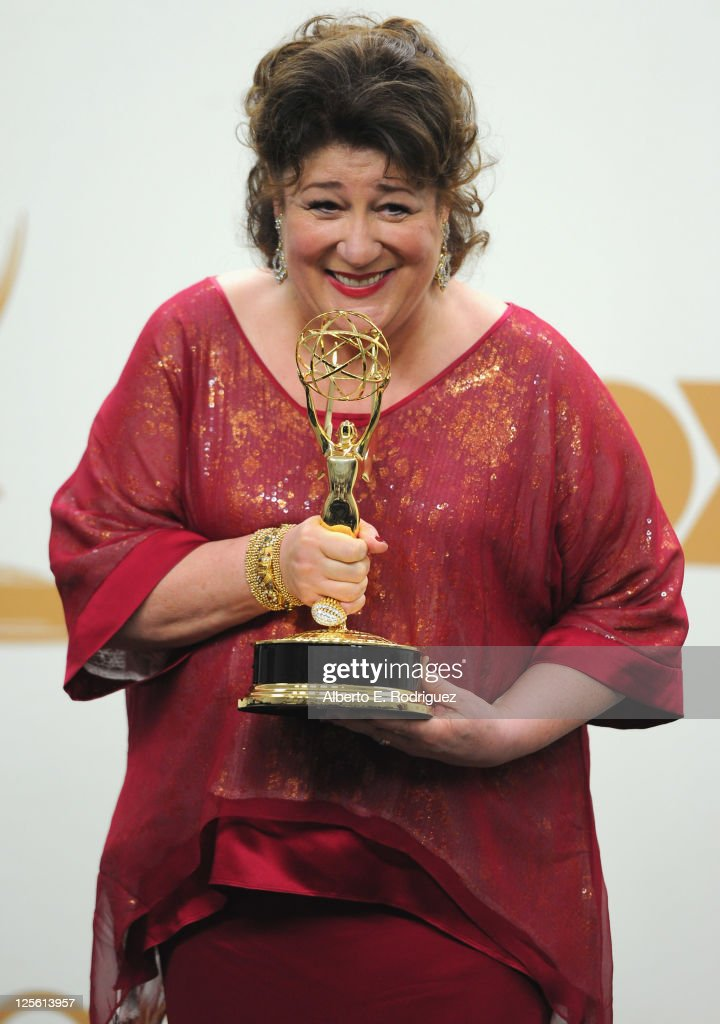 Actress Margo Martindale poses in the press room during the 63rd Annual Primetime Emmy Awards held at Nokia Theatre LA LIVE on September 18 2011 in...