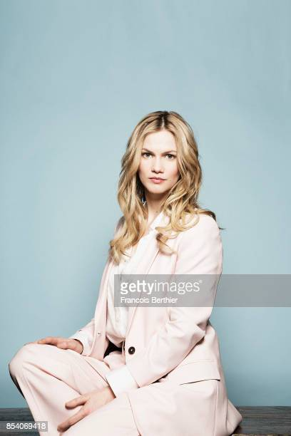 Actress Margot Bancilhon is photographed for Self Assignment on March 7 2017 in Paris France