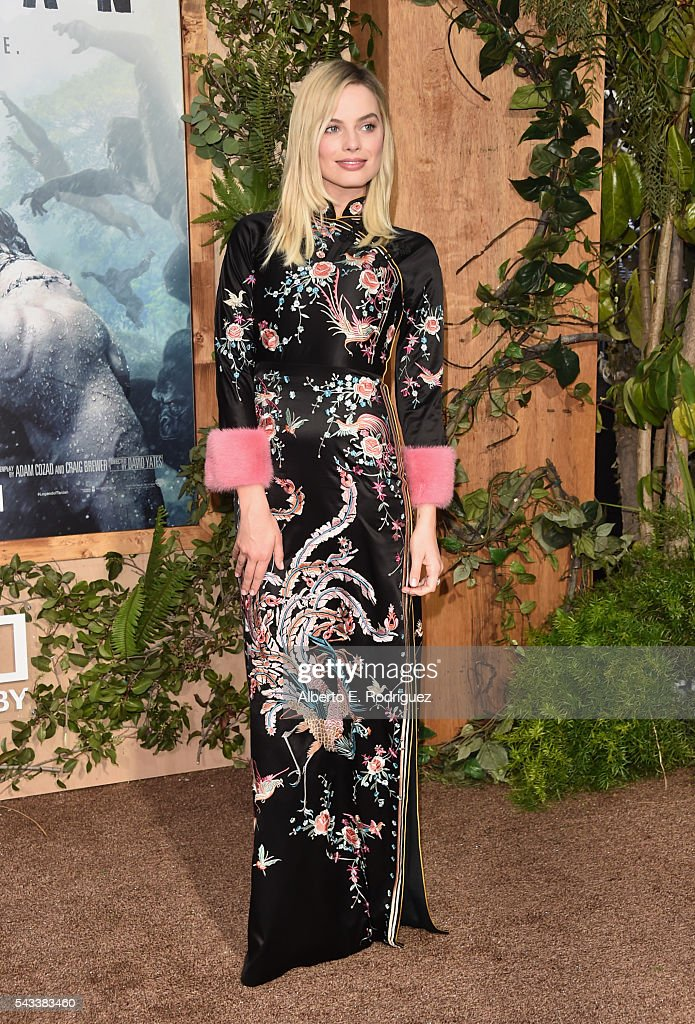 Actress Margot Robbbie attends the premiere of Warner Bros. Pictures' 'The Legend of Tarzan' at Dolby Theatre on June 27, 2016 in Hollywood, California.