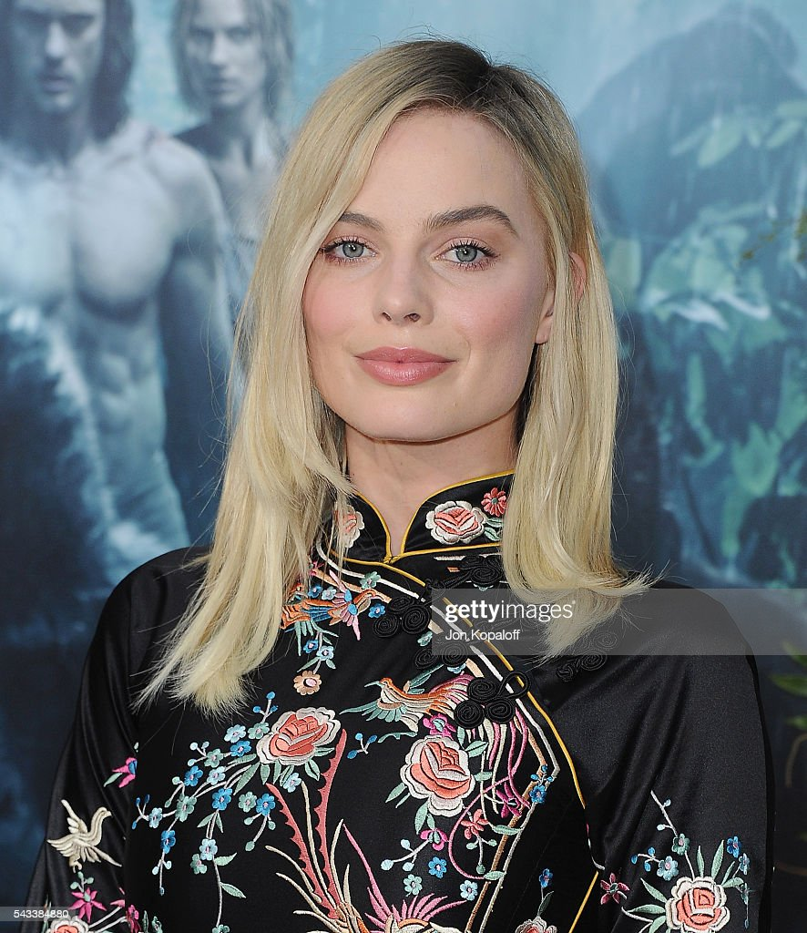 Actress Margot Robbie arrives at the Los Angeles Premiere 'The Legend Of Tarzan' at TCL Chinese Theatre on June 27, 2016 in Hollywood, California.