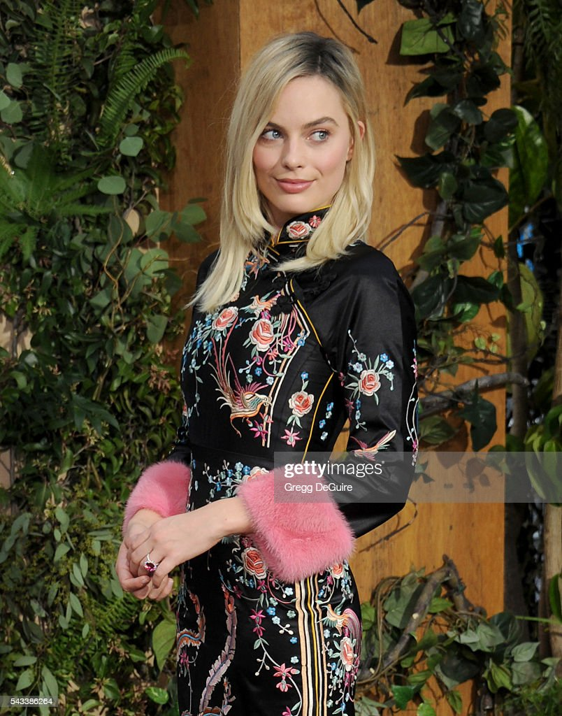 Actress Margot Robbie arrives at the premiere of Warner Bros. Pictures' 'The Legend Of Tarzan' at TCL Chinese Theatre on June 27, 2016 in Hollywood, California.