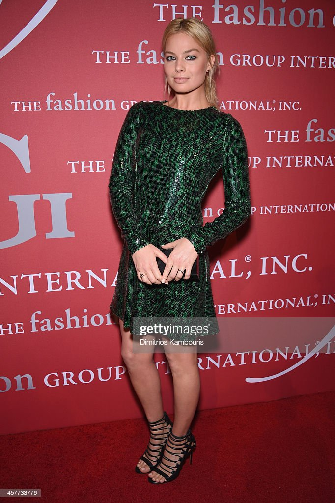 Actress Margot Robbie attends the 31st Annual FGI Night of Stars event at Cipriani Wall Street on October 23 2014 in New York City