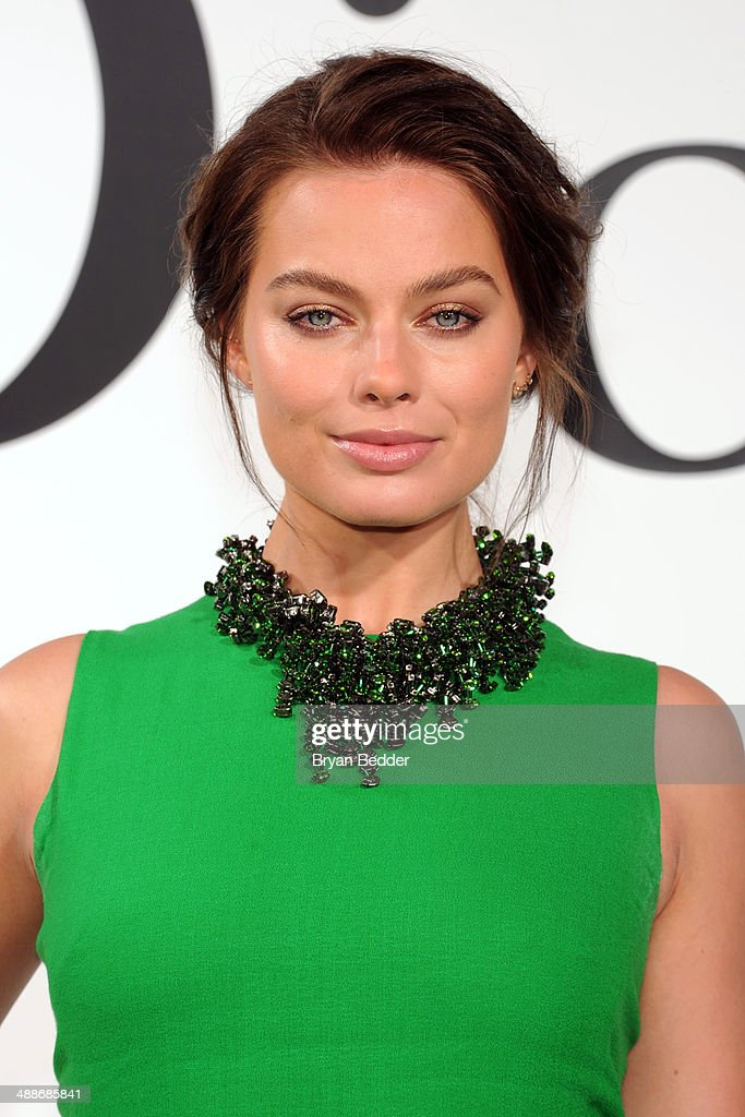 Actress Margot Robbie attends the Christian Dior Cruise 2015 Show on May 7, 2014 in Brooklyn, New York City.