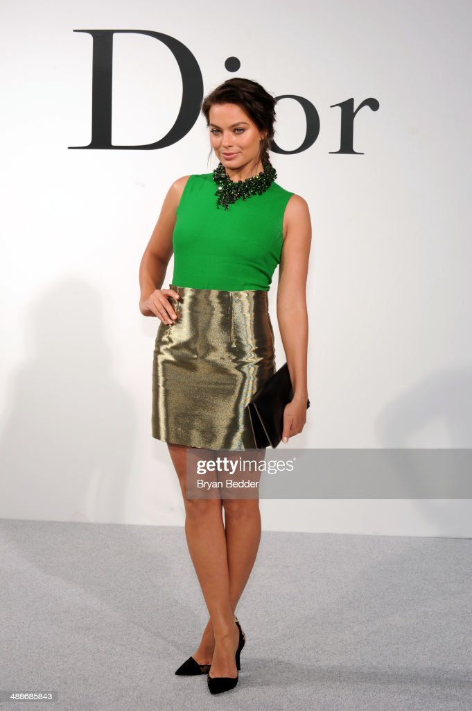 Actress <a gi-track='captionPersonalityLinkClicked' href=/galleries/search?phrase=Margot+Robbie&family=editorial&specificpeople=5781742 ng-click='$event.stopPropagation()'>Margot Robbie</a> attends the Christian Dior Cruise 2015 Show on May 7, 2014 in Brooklyn, New York City.