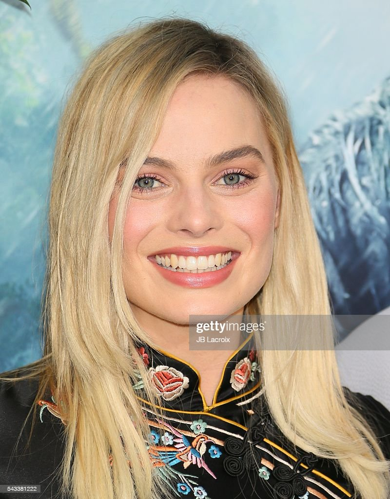 Actress <a gi-track='captionPersonalityLinkClicked' href=/galleries/search?phrase=Margot+Robbie&family=editorial&specificpeople=5781742 ng-click='$event.stopPropagation()'>Margot Robbie</a> attends the premiere of Warner Bros. Pictures' 'The Legend of Tarzan' on June 27, 2016 in Hollywood, California.