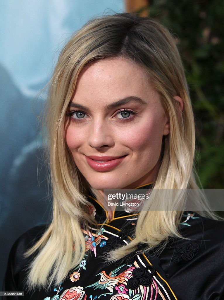 Actress <a gi-track='captionPersonalityLinkClicked' href=/galleries/search?phrase=Margot+Robbie&family=editorial&specificpeople=5781742 ng-click='$event.stopPropagation()'>Margot Robbie</a> attends the premiere of Warner Bros. Pictures' 'The Legend of Tarzan' at the TCL Chinese Theatre on June 27, 2016 in Hollywood, California.