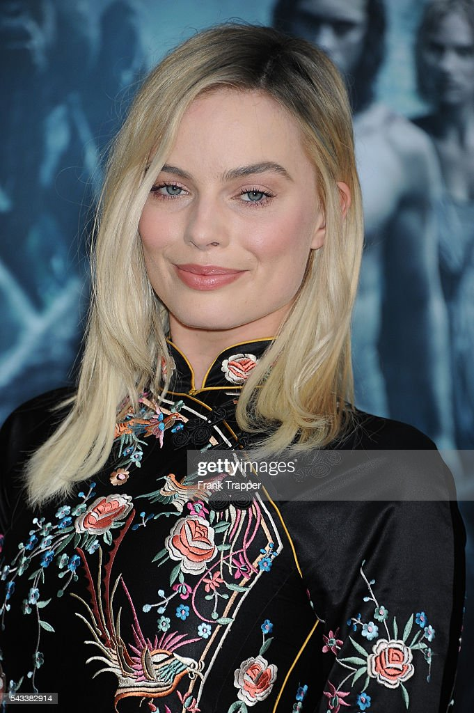 Actress Margot Robbie attends the premiere of Warner Bros. Pictures' 'The Legend Of Tarzan' held at the DolbyTheater on June 27, 2016 in Hollywood, California.
