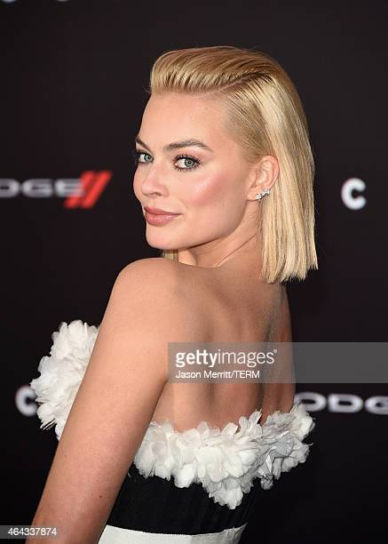 Actress Margot Robbie attends the Warner Bros Pictures' 'Focus' premiere at TCL Chinese Theatre on February 24 2015 in Hollywood California