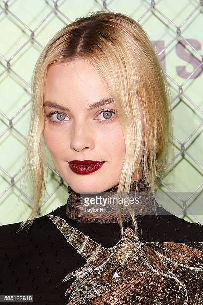 Actress Margot Robbie attends the world premiere of 'Suicide Squad' at The Beacon Theatre on August 1 2016 in New York City