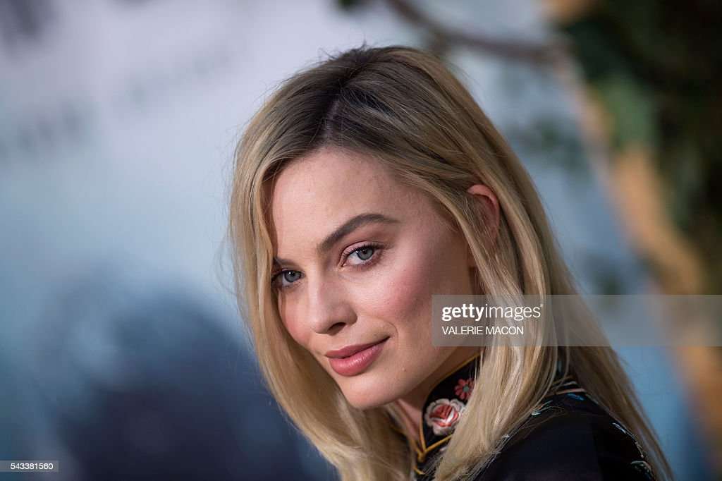 Actress Margot Robbie attends the world premiere of 'The Legend of Tarzan' in Hollywood, California, on June 27, 2016. / AFP / VALERIE