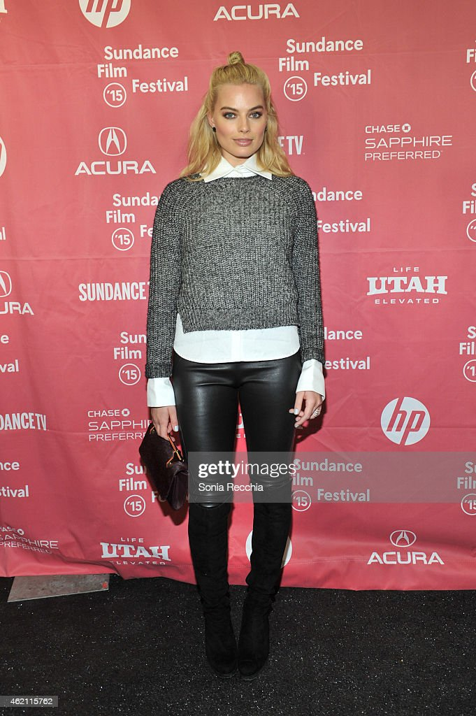 Actress Margot Robbie attends the 'Z for Zachariah' Premiere during the 2015 Sundance Film Festival on January 24 2015 in Park City Utah