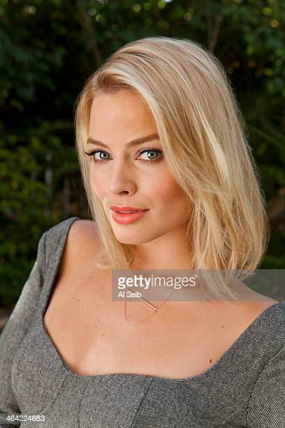 Actress Margot Robbie is photographed for Los Angeles Times on January 11 2014 in Los Angeles California PUBLISHED IMAGE CREDIT MUST READ Al Seib/Los...