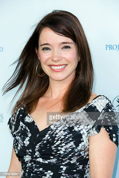 Actress Marguerite Moreau arrives at Project Angel Food's Annual Angel Awards 2013 honoring Jane Lynch at Project Angel Food on August 10 2013 in Los...
