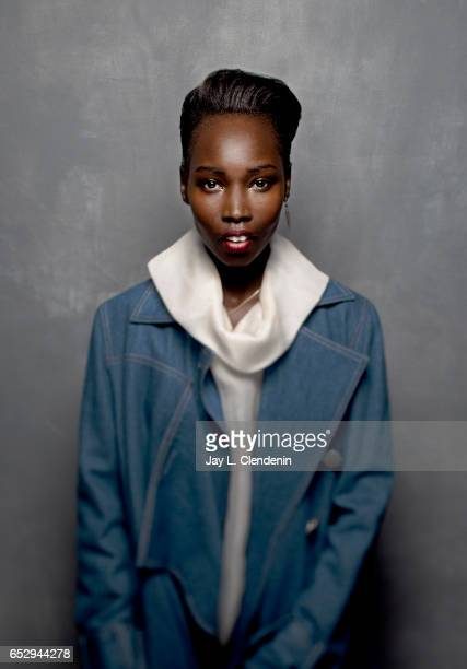 Actress Mari Malek from the film 'The Nile Hilton Incident' is photographed at the 2017 Sundance Film Festival for Los Angeles Times on January 21...