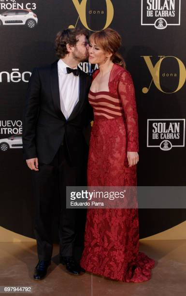 Actress Maria Adanez and Nacho Medrano attend the 'Yo Donna International Awards' photocall at Duques de Pastrana palace on June 19 2017 in Madrid...