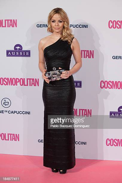 Actress Maria Adanez attends Cosmopolitan Fun Fearless Awards 2012 at Ritz Hotel on October 22 2012 in Madrid Spain