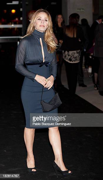 Actress Maria Adanez attends 'Prix del Dialogo' Award on November 14 2011 in Madrid Spain