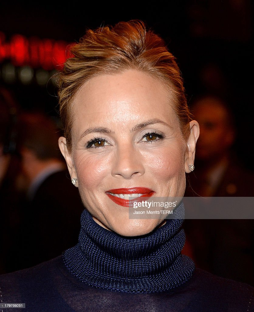 Actress Maria Bello arrives at the 'Prisoners' premiere during the 2013 Toronto International Film Festival at The Elgin on September 6, 2013 in Toronto, Canada.