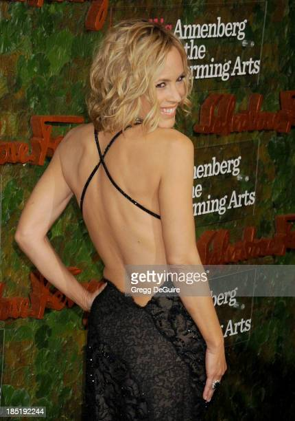 Actress Maria Bello arrives at the Wallis Annenberg Center For The Performing Arts Inaugural Gala at Wallis Annenberg Center for the Performing Arts...