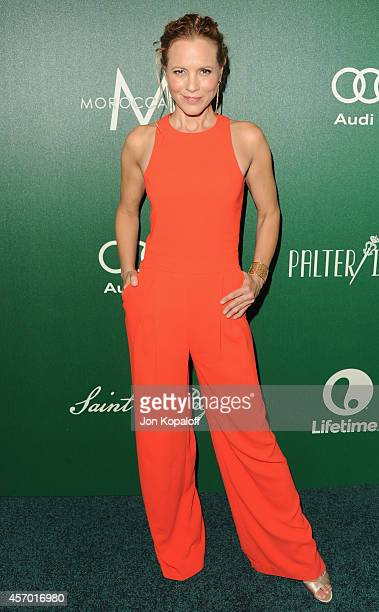 Actress Maria Bello arrives at Variety's 2014 Power Of Women Event In LA Presented By Lifetime at the Beverly Wilshire Four Seasons Hotel on October...