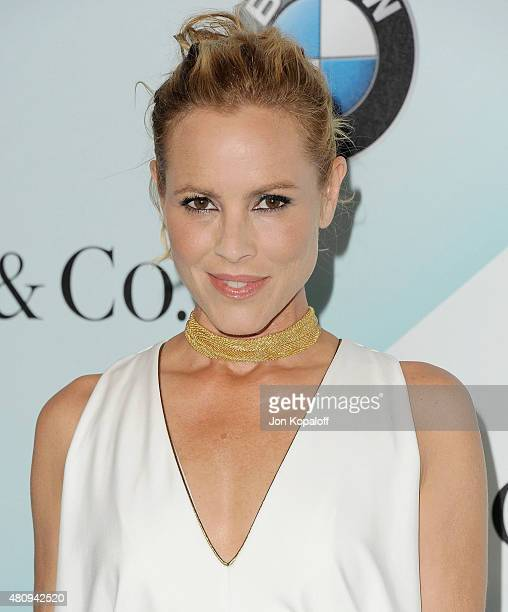 Actress Maria Bello arrives at Women In Film 2015 Crystal Lucy Awards at the Hyatt Regency Century Plaza on June 16 2015 in Los Angeles California