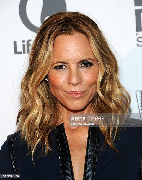 Actress Maria Bello attends 'Big Driver' New York Premiere at Angelika Film Center on October 15 2014 in New York City