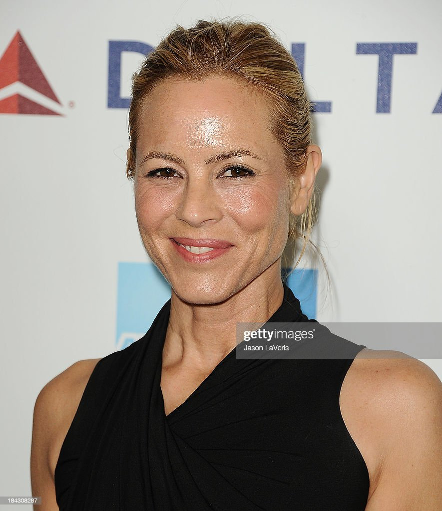 Actress <a gi-track='captionPersonalityLinkClicked' href=/galleries/search?phrase=Maria+Bello&family=editorial&specificpeople=201770 ng-click='$event.stopPropagation()'>Maria Bello</a> attends Hugh Jackman's 'One Night Only' benefitting the MPTF (Motion Picture & Television Fund) at Dolby Theatre on October 12, 2013 in Hollywood, California.