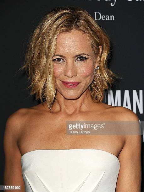 Actress Maria Bello attends the 2013 Pink Party at Hangar 8 on October 19 2013 in Santa Monica California