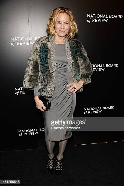 Actress Maria Bello attends the 2014 National Board Of Review Awards Gala at Cipriani 42nd Street on January 7 2014 in New York City