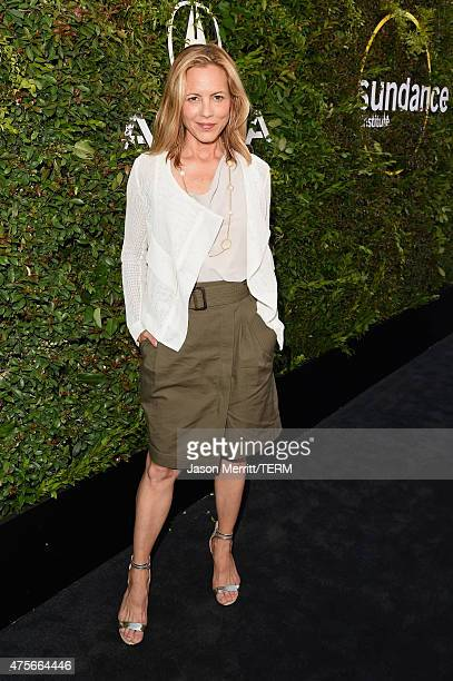 Actress Maria Bello attends the 2015 Sundance Institute Celebration Benefit at 3LABS on June 2 2015 in Culver City California