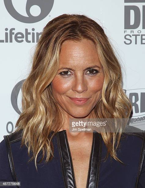 Actress Maria Bello attends the 'Big Driver' New York Premiere at Angelika Film Center on October 15 2014 in New York City