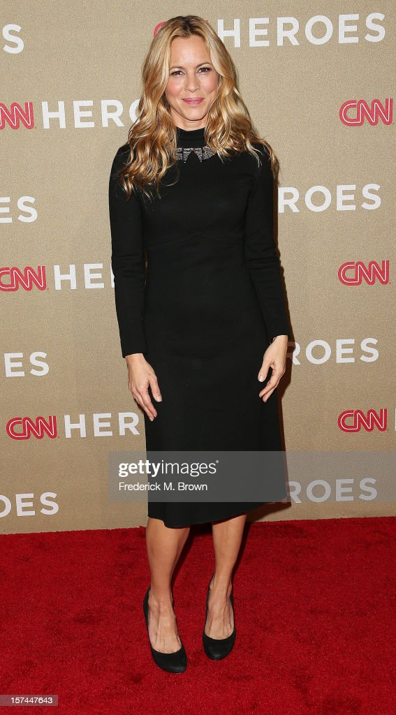 Actress Maria Bello attends the CNN Heroes: An All Star Tribute at The Shrine Auditorium on December 2, 2012 in Los Angeles, California.