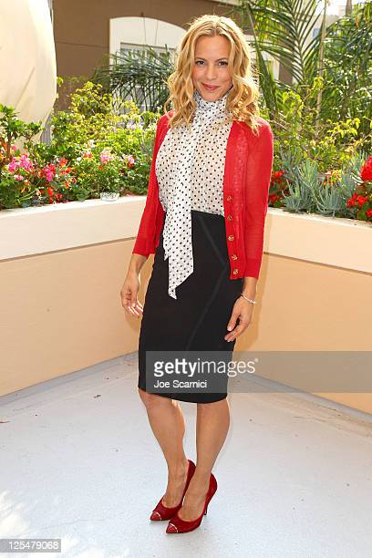 Actress Maria Bello attends the HBO Luxury Lounge in honor of the 63rd Primetime Emmy Awards held at The Four Seasons Hotel on September 17 2011 in...