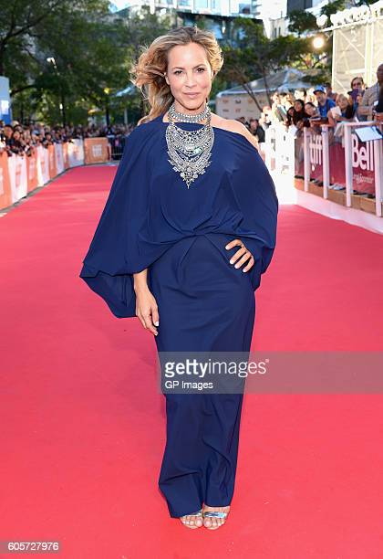 Actress Maria Bello attends 'The Journey Is The Destination' Premiere during 2016 Toronto International Film Festival at Ryerson Theatre on September...