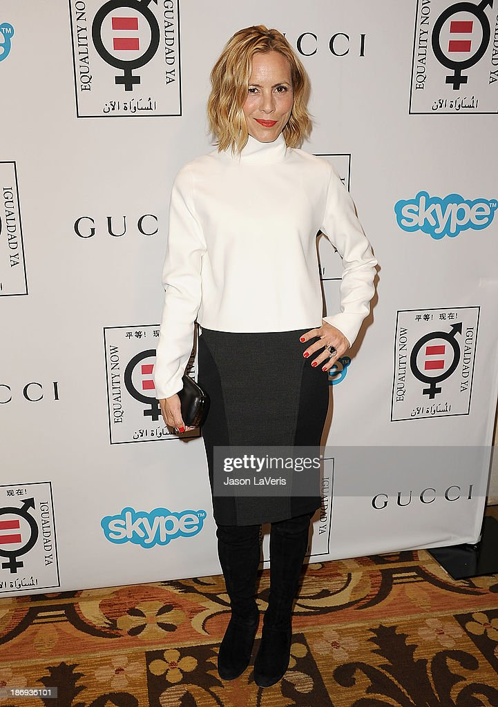 Actress <a gi-track='captionPersonalityLinkClicked' href=/galleries/search?phrase=Maria+Bello&family=editorial&specificpeople=201770 ng-click='$event.stopPropagation()'>Maria Bello</a> attends the 'Make Equality Reality' event at Montage Beverly Hills on November 4, 2013 in Beverly Hills, California.