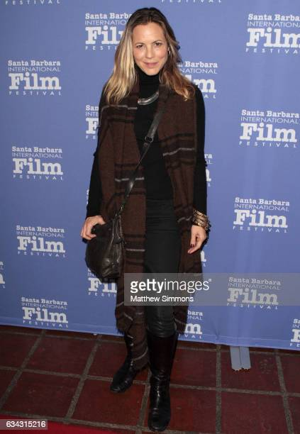 Actress Maria Bello attends the Montecito Award during the 32nd Santa Barbara International Film Festival at the Arlington Theatre on February 8 2017...