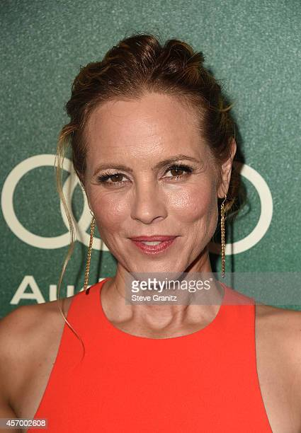 Actress Maria Bello attends Variety's 2014 Power of Women Event in LA presented by Lifetime at the Beverly Wilshire Four Seasons Hotel on October 10...