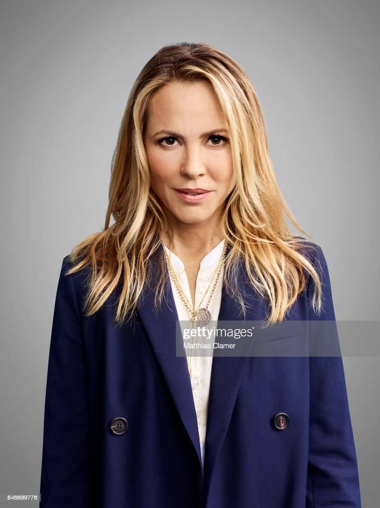 Actress Maria Bello from 'Lights Out' is photographed for Entertainment Weekly Magazine on July 21, 2016 at Comic Con in the Hard Rock Hotel in San Diego, California.