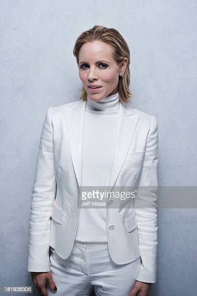 Actress Maria Bello is photographed at the Toronto Film Festival on September 9 2013 in Toronto Ontario
