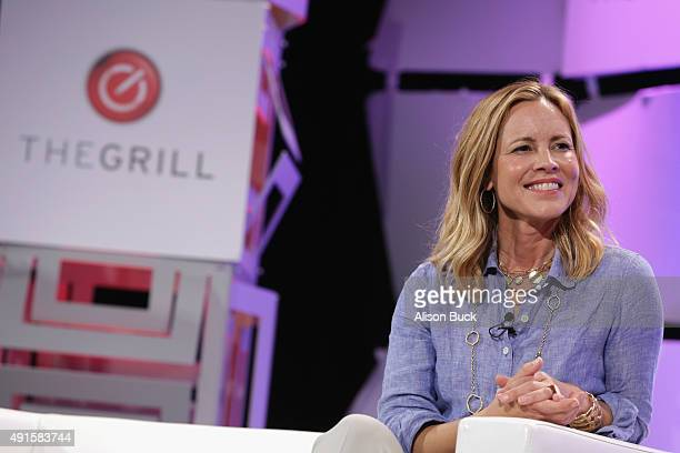 Actress Maria Bello speaks onstage during TheWrap's 6th Annual TheGrill at Montage Beverly Hills on October 6 2015 in Beverly Hills California