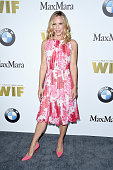 Actress Maria Bello wearing Max Mara attends Women In Film 2016 Crystal Lucy Awards Presented by Max Mara and BMW at The Beverly Hilton on June 15...