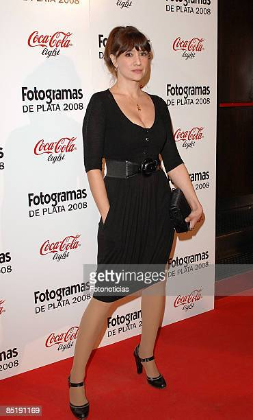 Actress Maria Botto arrives at Fotogramas Magazine Cinema Awards at Joy Eslava Club on March 2 2009 in Madrid Spain