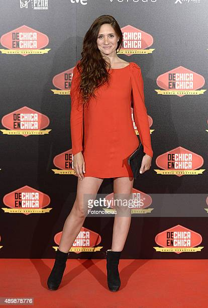 Actress Maria Botto attends the 'De Chica en Chica' Premiere at Palafox Cinema on September 24 2015 in Madrid Spain