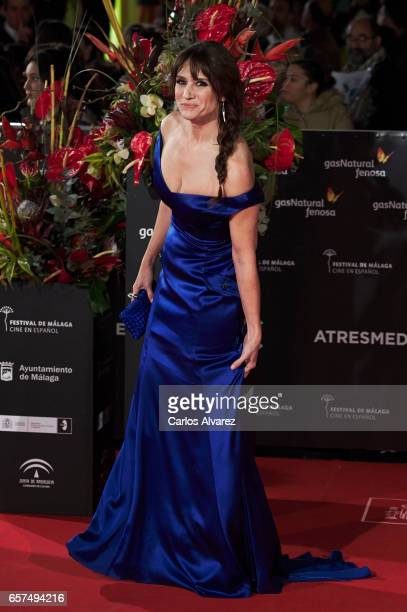 Actress Maria Botto attends the 'Pieles' premiere on day 8 of the 20th Malaga Film Festival at the Cervantes Teather on March 24 2017 in Malaga Spain