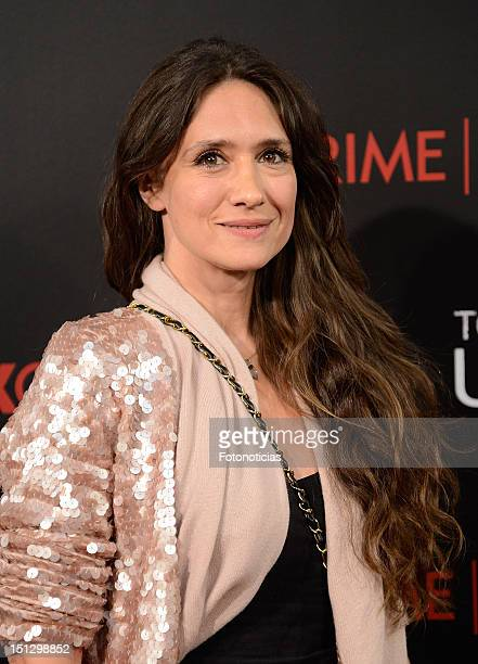 Actress Maria Botto attends the premiere of 'Todos Tenemos Un Plan' at the Capitol cinema on September 5 2012 in Madrid Spain